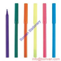 China fine line tip fibre art drawing marker with water ink,24colors available wholesale