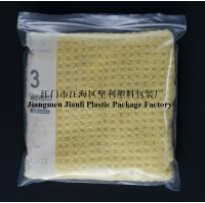 China LDPE transparent zip lock plastic bag for multiple storage uses wholesale