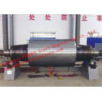 China High Carbon Tool Steel Solid Forged Backup Rolls For Cold And Hot Rolling Mills wholesale