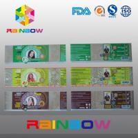 China Custom Waterproof Printed PVC / PET Heat Shrink Sleeve Labels / Plastic Bottle Label on sale