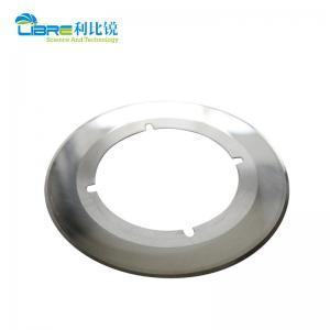 China Fosber Machine OD291mm  Tungsten Carbide Slitter Blades wholesale