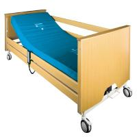 China Five Functions Motor Electric Hospital Bed Medical Electric Bed Patient Bed with ABS panel on sale
