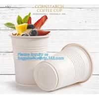 China New products cornstarch plastic 12oz nature biodegradable drinking cup,Disposable cups plastic biodegradable cups PLA pa wholesale