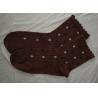 China Autumn / Winter Womens Wool Socks Polyester Jacquard Warm Knitted Acrylic wholesale