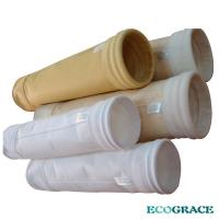 China Waste incinerator high temperature dust filter bags D 160X7000mm wholesale