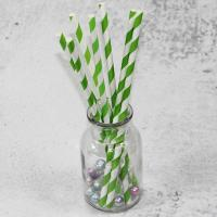 China 220mm 250mm longth orange blue  color Wholesale Biodegradable Paper Drinking Straws for Party wholesale