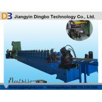 Buy cheap Heavy Duty Metal Steel Rack Upright Roll Forming Machine With Manual Decoiler 5.5KW from wholesalers