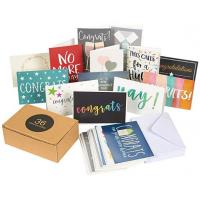 China Assorted Holiday Greeting Cards Multi Colored Durable 250gsm Paper Made wholesale