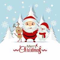 China Art Paper Cardstock Charity Christmas Cards With CMYK Printing Color on sale