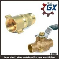 China Cast NPT Full Port Private Label on Handle Male Thread Brass Ball Valve on sale