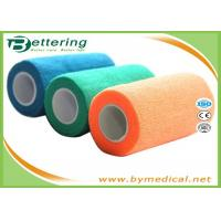"""China 4"""" Self Adhesive Coflex Bandage Wrap Easy Hand Tearing Non Woven Material wholesale"""