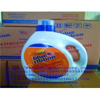 China hotsale blue ribbon 3L laundry liquid detergent/mild liquid detergent/liquid detergent lemon to africa market wholesale