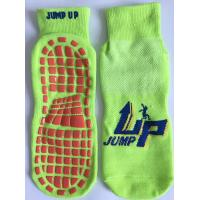 China Kids Non Slip/Non Skid Socks with the Best Grip Technology /Trampoline Jump Socks Unisex Gripper Socks wholesale
