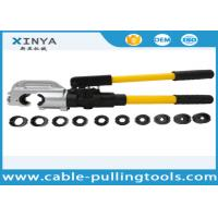 Quality Hand Operated Hydraulic Crimping Tools for Crimping Copper / Aluminum Cable Lug for sale