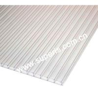 China Pc 6mm clear twin-wall sheet on sale