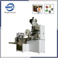 China DXDC8IV Automatic Tea Coffee Filter Paper Packaging Machinery with Inner and Outer Bag and Tag on sale