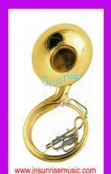 China Sousaphone Euphonium Baritone Tuba Trumpet Brass Instrument on sale