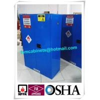 China Hazardous Waste Storage Cabinets For Laboratory , Paint Industry Safety Cabinets For Inks wholesale