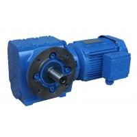 China Four series S series helical worm gear worm gear reducer hard tooth surface gear box S37-97 type S87 wholesale
