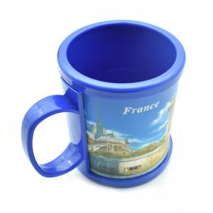 China Eco-friendly Custom Sublimation Printing Logo Soft Touch PVC Plastic Mug Of Travel Souvenirs on sale