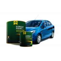 Buy cheap Acrylic Flash Clear Pearl Automotive Paint High Solid Quick Dry from wholesalers
