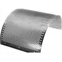 China 2mm Perforated Stainless Steel Mesh Sheet Round Hole Punched Openings wholesale