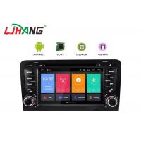 China 4+32G Audi Android Car Dvd Player Built - In GPS With BT GPS DVR Mirror Link on sale