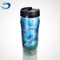 China Promotional Custom Printing Plastic Cartoon Lenticular 3d Cup 300ml-1500ml Capacity wholesale
