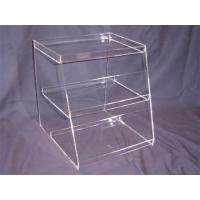 China acrylic pastry food display case wholesale