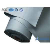 Buy cheap Gray Twill 0.4MM Silicone Coated Fiberglass Fabric from wholesalers