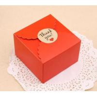 China Paper Christmas Gift Box Packaging , Cardboard Boxes For Christmas Presents wholesale
