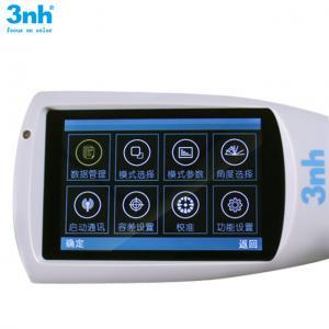 China Smart single angle glossmeter 3nh NHG60 1000gu touch screen gloss meter compare to wgg-60 micro processor glossmeter wholesale