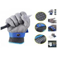 China Butcher Anti Cutting Stainless Steel Safety Gloves High Strength Multi Size wholesale