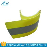 China PVC Clear 2*1CM Elastic Reflective Clothing Tape Reflective Fabric wholesale