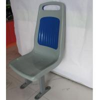 China ABS Plastic Bus Seats Blue And White 400 * 440 Corrosion Resistance Anti - Staic wholesale