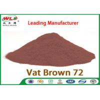 China C I Vat Brown 72 Brown GG Chemical Dyes Used In Textile Industry 100% Strength wholesale