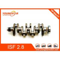 China Genuine Forged Steel Crankshaft For Foton Cummins Isf2.8 Isf 2.8 Isf28 5264230 5264231 5340179 wholesale