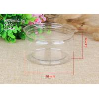China Tea Packaging Clear Plastic Cylinder Plastic Cylinder Containers With Lids wholesale