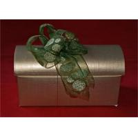 China Luxury Custom Printed Gift Boxes With Ribbon , Small Jewellery Gift Boxes wholesale