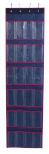 China 24 PVC Pockets Nonwoven Over The Door Shoe Organizer wholesale