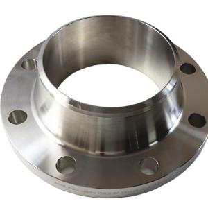 China ANSI B16.5 Class 150 6 Inch 304 Stainless Steel Pipe Flange Weld Neck Flange wholesale