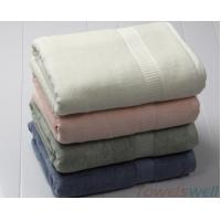 Lint Free Ultra Soft  Drying fast Super Absorbent Bamboo Bath Towels Manufactures