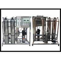 China Car Wash Stainless Steel Reverse Osmosis System With Sand And Carbon Filter wholesale
