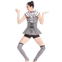 China MiDee Charactors Costume Modern Design Unitard Halter Neck Sleeves Jumpsuits wholesale