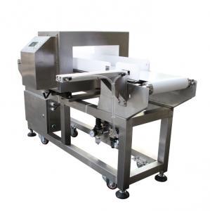 China Conveyor Belt Food Grade Metal Detector Stainless Steel 380 V Belt Speed Adjustable wholesale