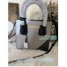 China New Knockoff Michael Kors Mercer Grey Genuine Leather Women's Bag wholesale