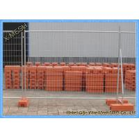 China AS 4687 Standard hot dipped galvanized Site Security Temporary Mesh Fencing , Temporary Net Fencing wholesale