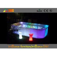 16 colors Bar Furniture & bar table nightclub furniture with led lighting Manufactures