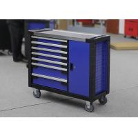 China Multifunctional 42 Inch Heavy Duty Garage Tool Cabinets + Wheels With Door wholesale