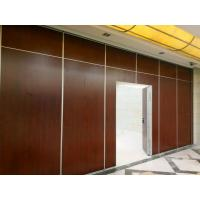 China High Sound Insulation Acoustic Operable Partition Walls With Aluminum Frame wholesale